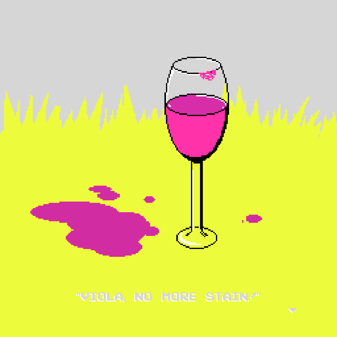 red wine glass spilled on yellow carpet